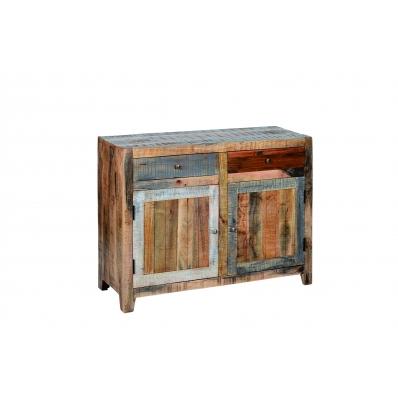 Bahut en bois de Manguier recyclé naturel