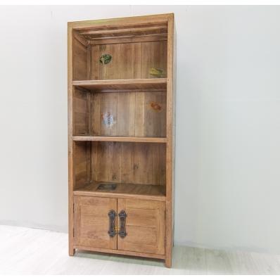 Bibliothèque en manguier massif L 74 cm Komodo