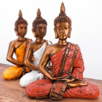 Bouddha Thaï en position lotus