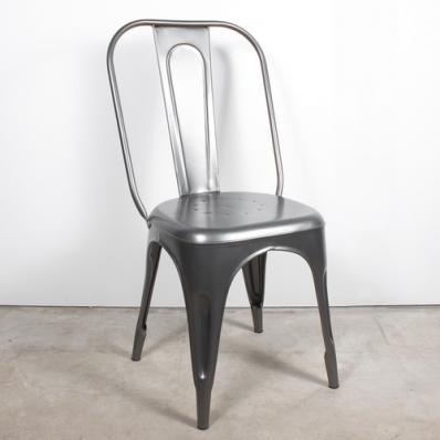 Chaises métal