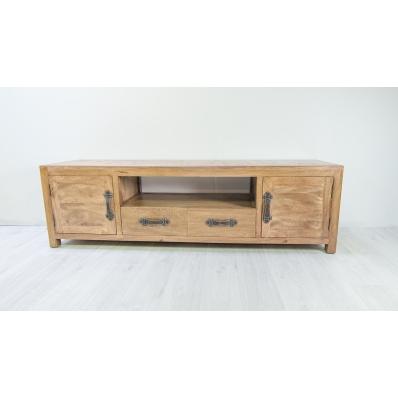 biblioth que en manguier massif l 74 cm komodo. Black Bedroom Furniture Sets. Home Design Ideas