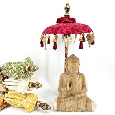 Parasol balinais décoratif à poser