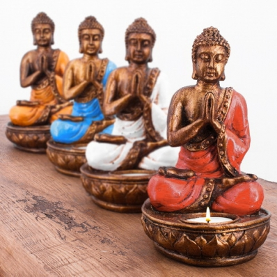 Porte bougie Bouddha
