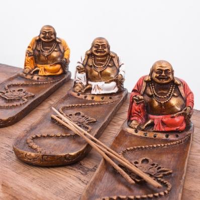 Porte encens Happy Bouddha