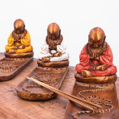 Porte encens moine Shaolin