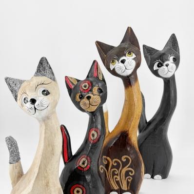 Set de 3 chats