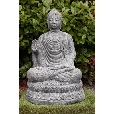 Statue Bouddha abhaya-mudra 100 cm