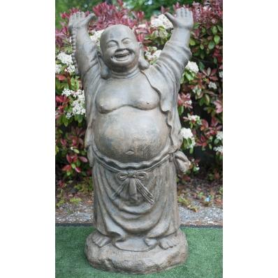 Statue Bouddha rieur debout 200 cm