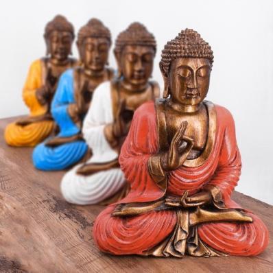 Statuette Bouddha mudra vitarka 23 cm