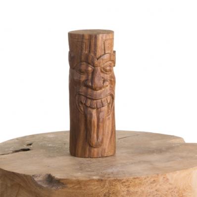 Tiki Moai Rapa Nui en bois de suar 20 cm