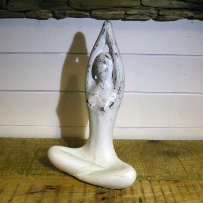 Yogi Statue Zen en Méditation Yoga en Terracotta