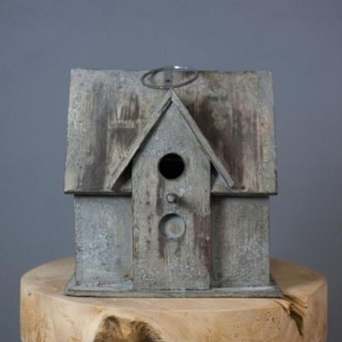 cabane oiseaux 1 perchoir en bois exotique. Black Bedroom Furniture Sets. Home Design Ideas