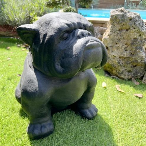 deco chien bouledogue cheap with deco chien bouledogue amazing statue bouledogue francais. Black Bedroom Furniture Sets. Home Design Ideas
