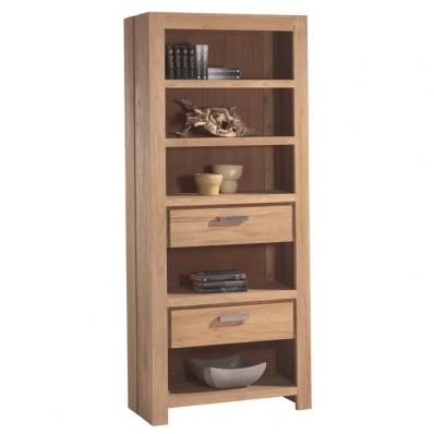 Achetez vos meubles pour salon en bois massif sur containers du monde - Bibliotheque en teck massif ...