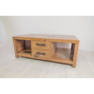 Table basse 120 cm en Manguier Komodo