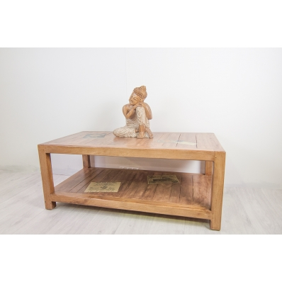 Table basse en Manguier 100 cm Komodo