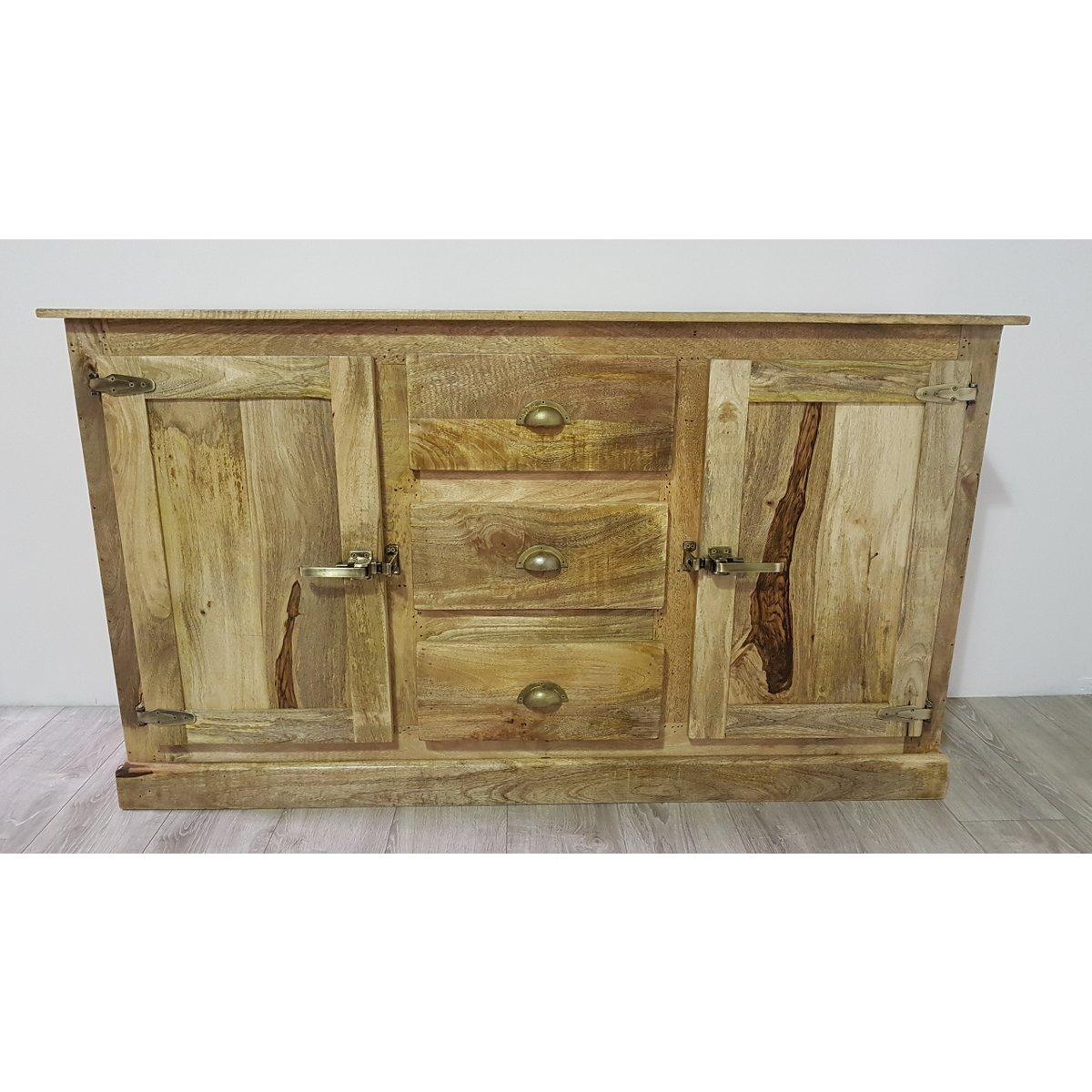 Poignée De Meuble Industrielle bahut 2 portes 3 tiroirs fermeture des portes style ancien frigo