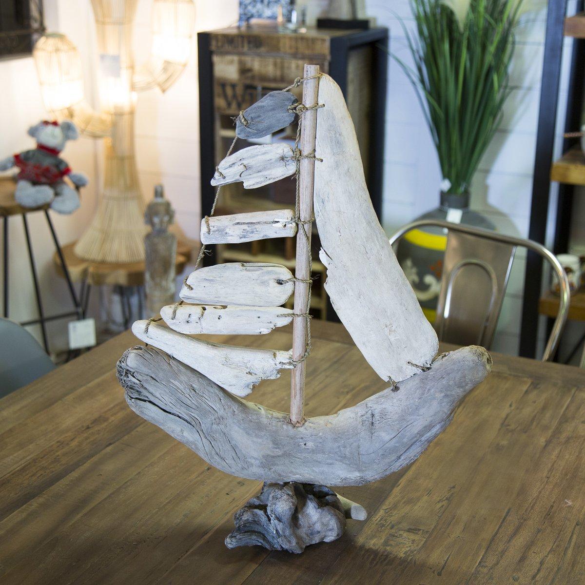 Que Faire Avec Bois Flotté bateau en bois flotté