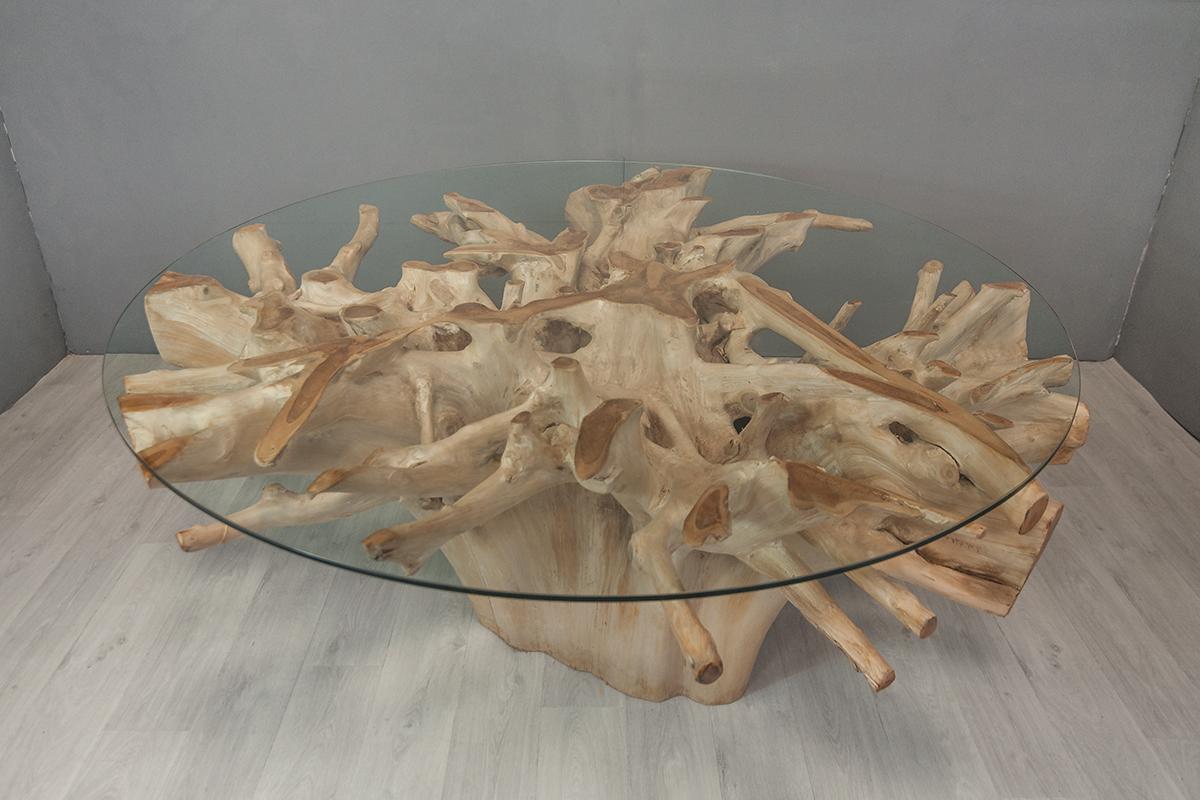 Table Repas En Racine De Teck O 175 Cm