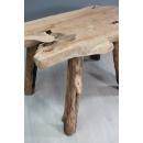 Table basse en teck naturel